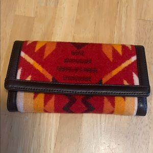 Pendleton WOOL Native American Wallet